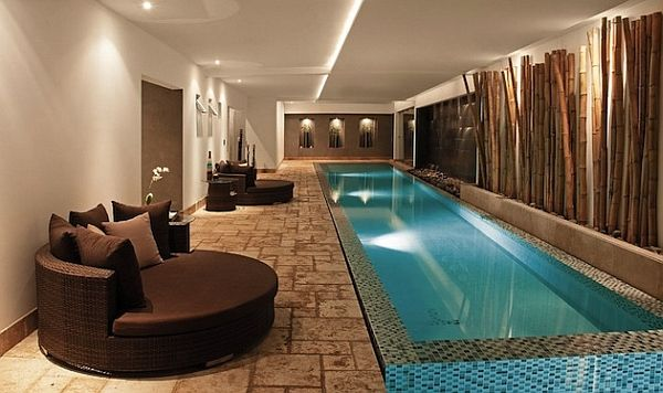 exquisite indoor swimming pool design decoist - Swimming Pool Designers