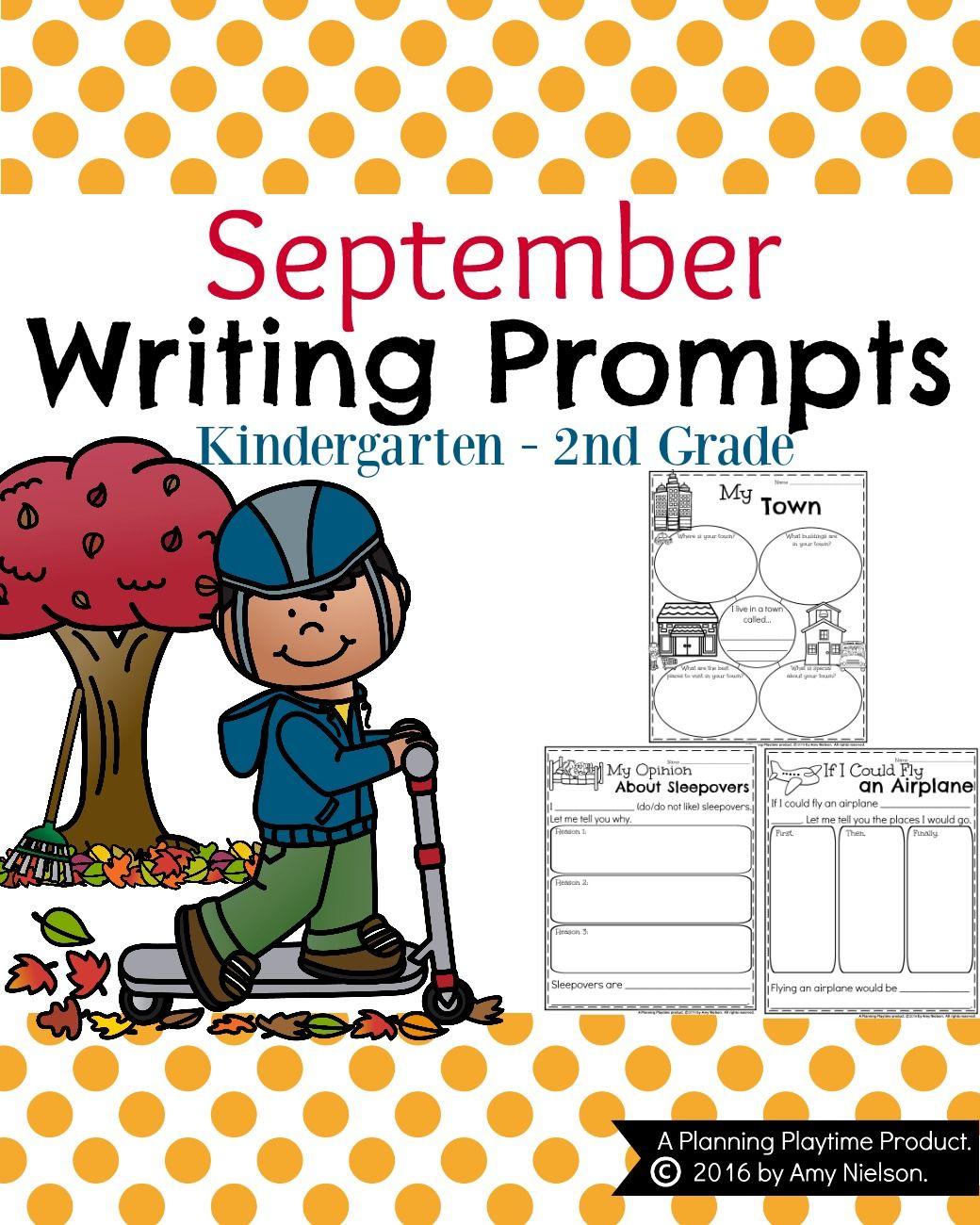 September Writing Prompts Teachers Pay Teachers