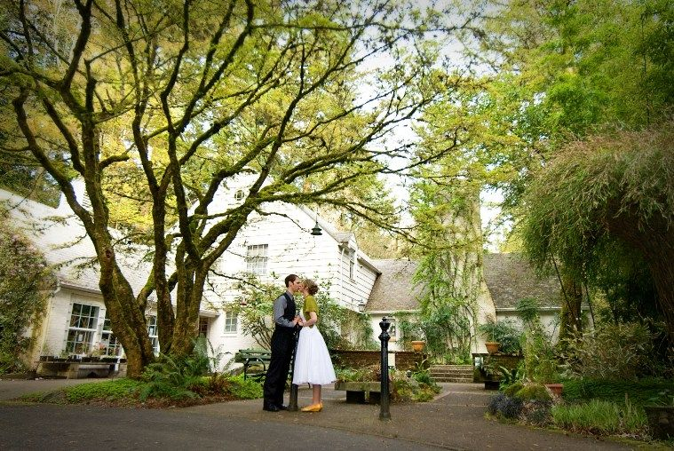 Venue Idea Leach Botanical Garden In Portland Ore This One Is Probs At