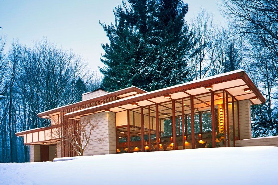 Homes for sale around the world usonian frank lloyd - Frank lloyd wright homes for sale ...