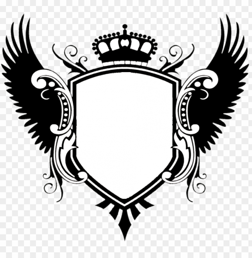 Shield Wings Png Png Image With Transparent Background Png Free Png Images In 2021 Family Crest Tattoo Family Crest Template Crest Tattoo