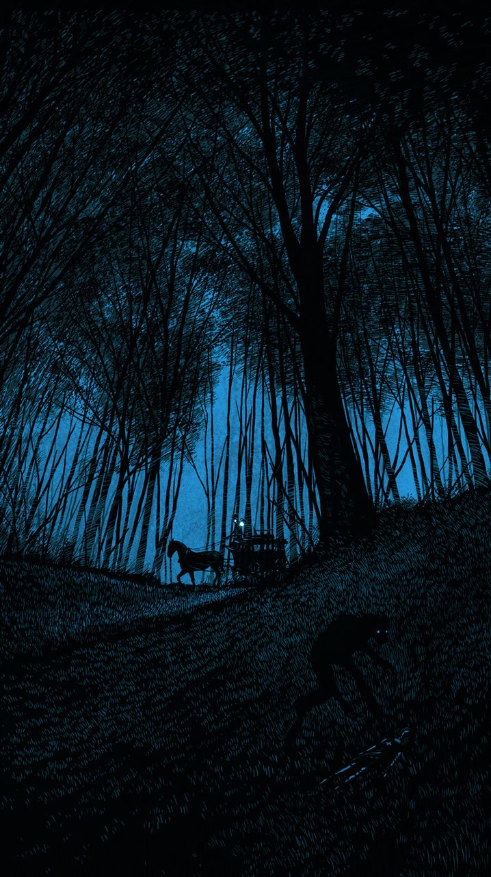 Carriage Home in the Blue