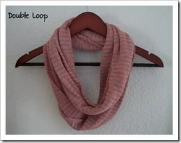 infinity scarf - detailed tutorial