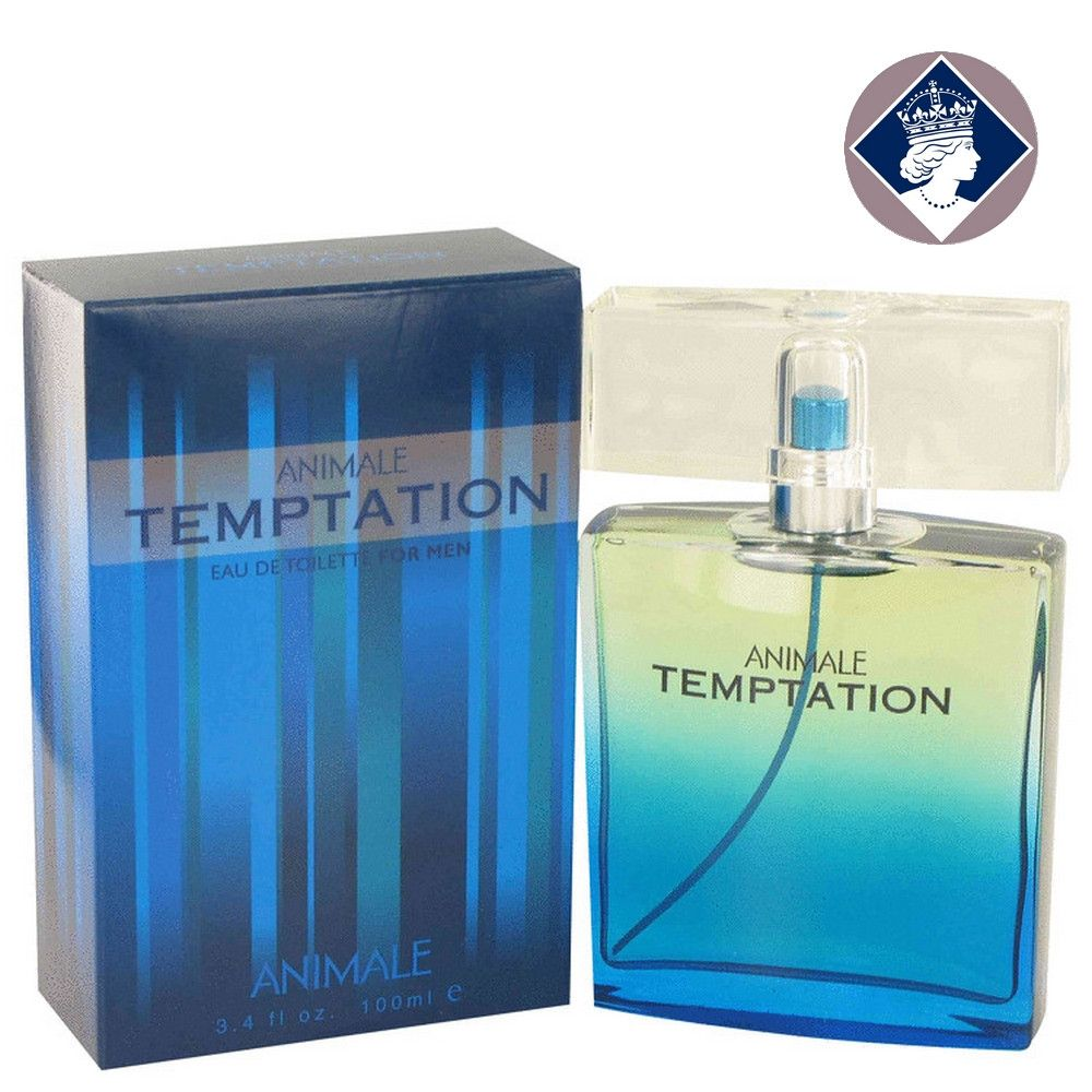 Animale Temptation for Men 100ml/3.4oz Eau De Toilette Spray EDT Cologne for Him
