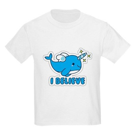 Narwhal I Believe T-Shirt