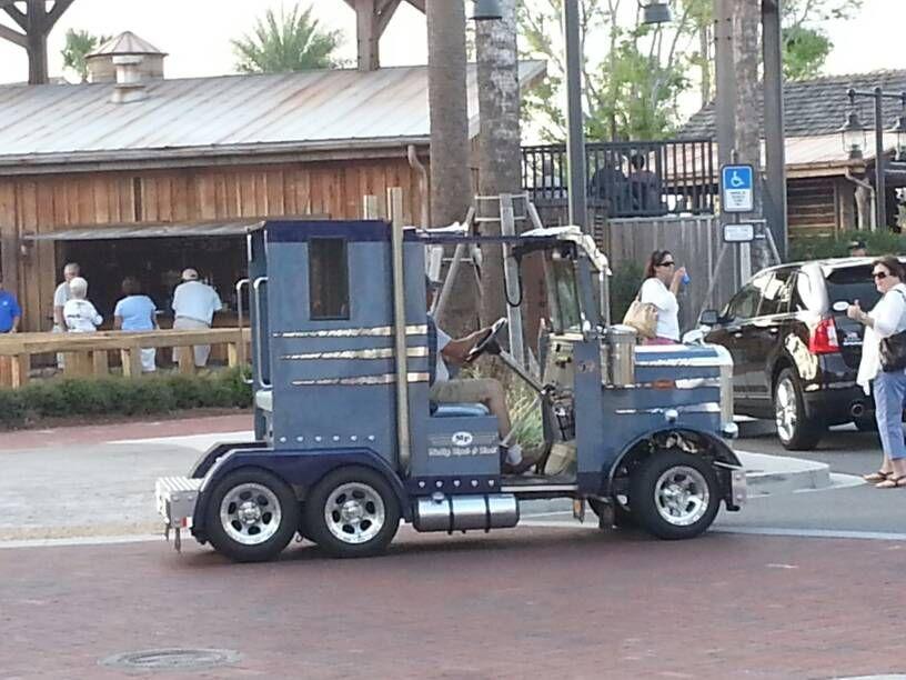 Big Rig Golf Cart