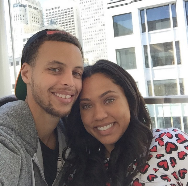 stephen curry pays tribute to pregnant wife during mvp