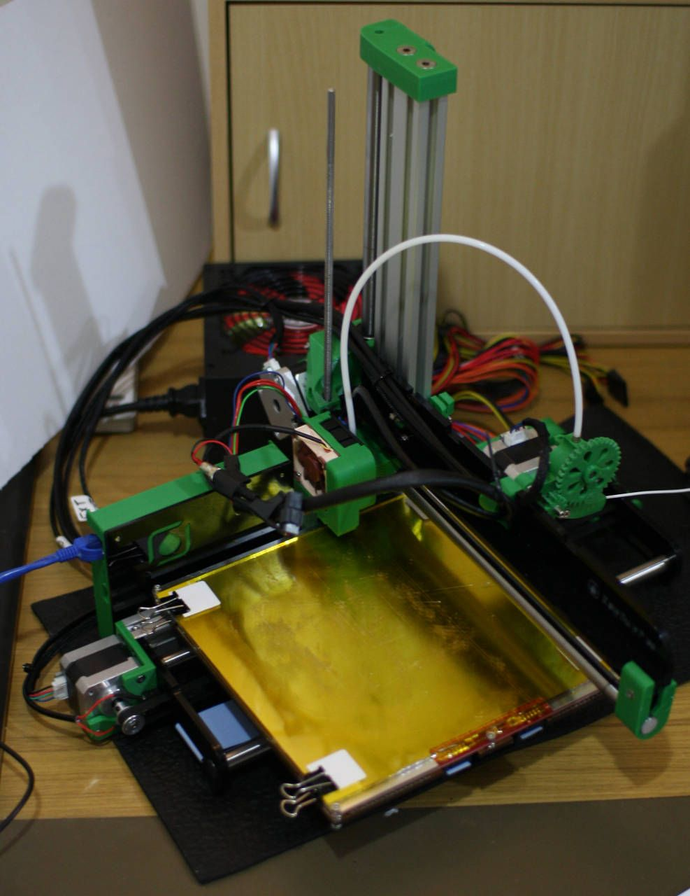 How To Build And Tune An Open Source 3d Printer On Linux The Make A Printed Circuit Board Using Diode Laser With Reprappro Ormerod Is Recent Addition Reprap Line Of Printers That Uses