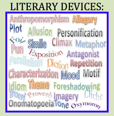 Discuss literary elements in