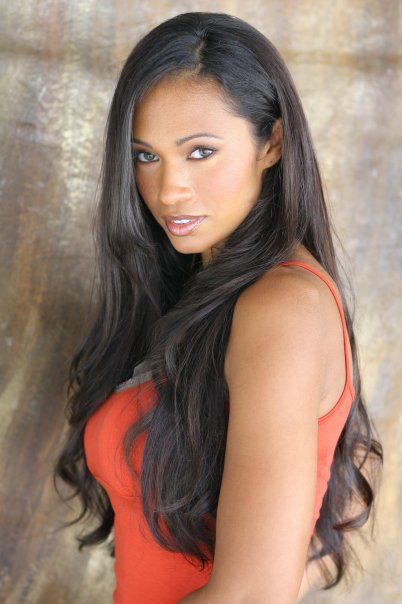 Pilar Sanders, She Is Gorgeous I Believe She Is Mixed Race Very Exotic Looking -3097