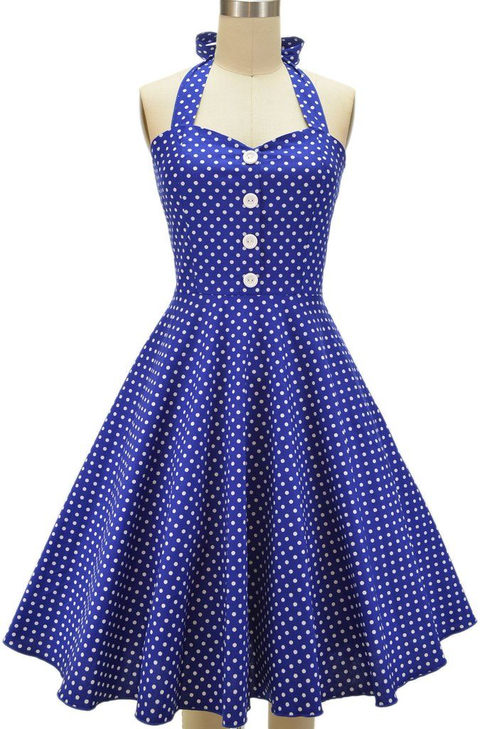 3b539c052a1 miss mabel sweetheart sun dress - blue polka dots - FINAL in 2018 ...