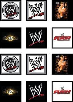 awesome FREE printables site WWE party Pinterest Free