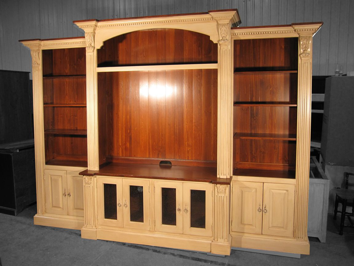 Best Custom French Country Media Wall Unit By Katemadison Com 400 x 300