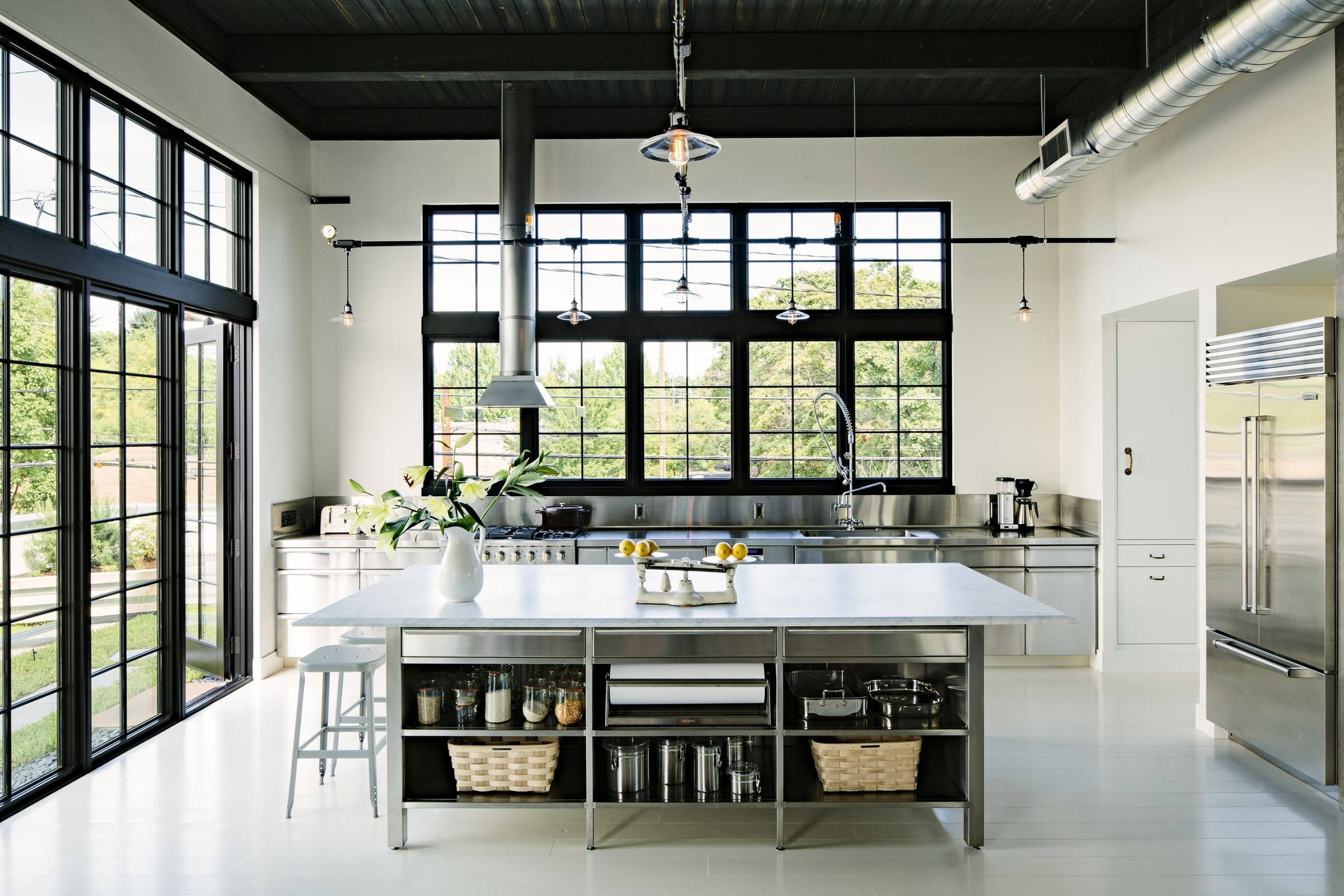 Caution These 8 Stainless Steel Kitchen Cabinet Ideas Are