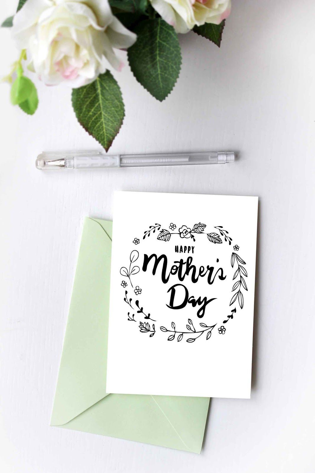Beautiful Mother S Day Cards That You Can Print At Home With