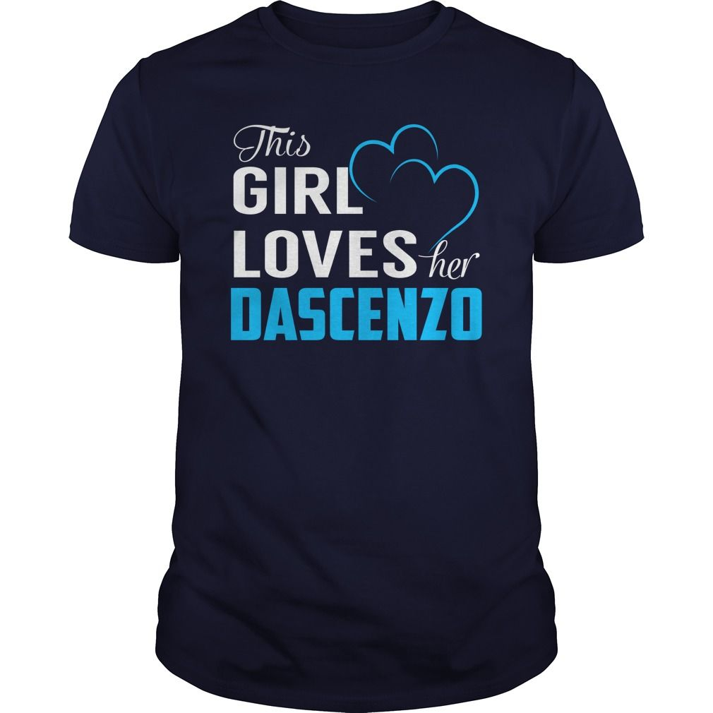 This girl loves her dascenzo name shirts gift ideas popular
