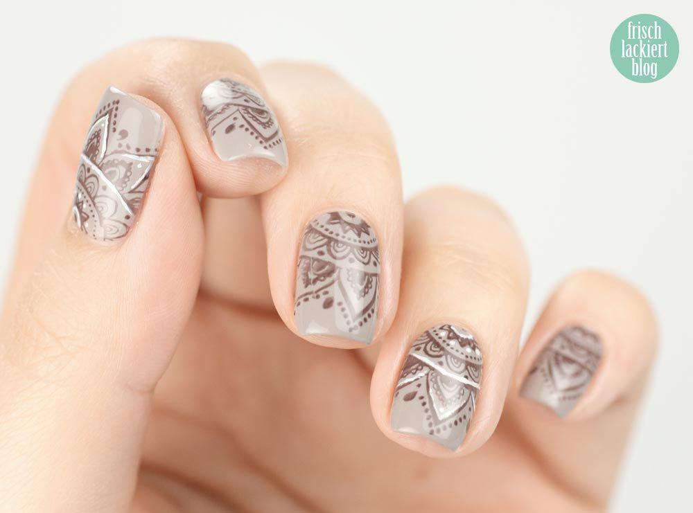 {Frischlackiert-Challenge} henna look | Nagellack