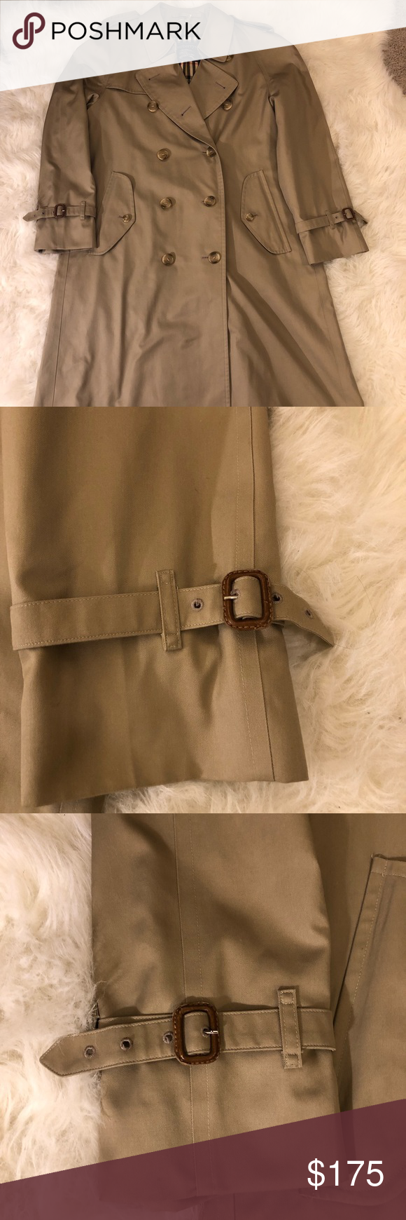 Vintage Burberry Long Trench Long Trench Burberry Clothes Design