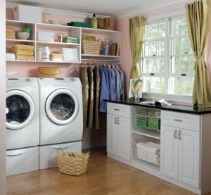 Powder Pink Walls In Laundry Room Laundry Room Layouts Perfect