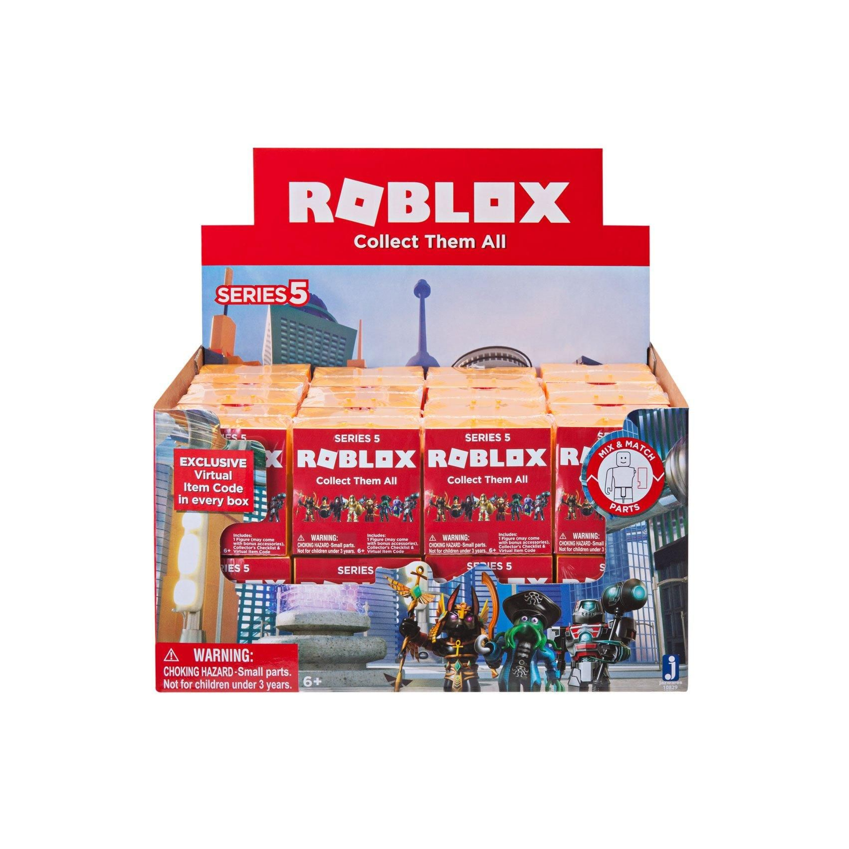 Roblox Series 5 Blind Box Figure Gamestop Roblox Toy Collection Animal Planet Toys