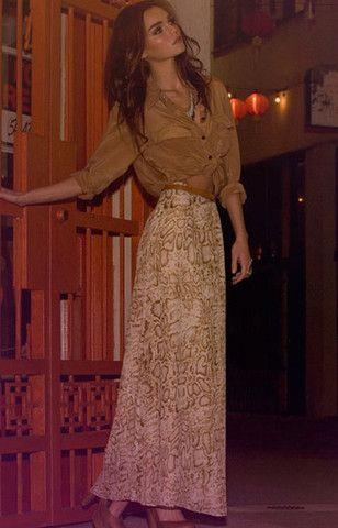 L+F Love Stone Maxi Skirt  I LOVE THIS!!!!