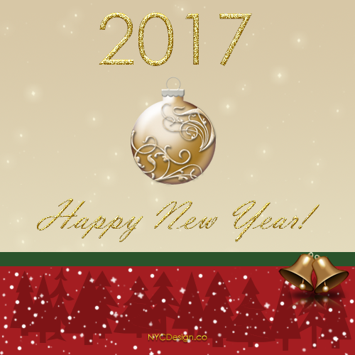 Greeting Cards for Happy new year 2017 Best Animated card design ...