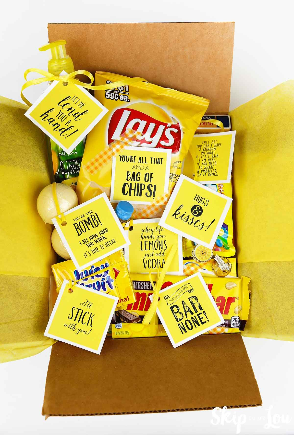 Send A Box Of Sunshine To A Friend That Needs A Boost Here Are