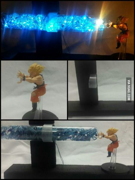 I Had A Goku Figure Figured I Should Make A Lamp Dragon Ball Z Make A Lamp Dragon Ball