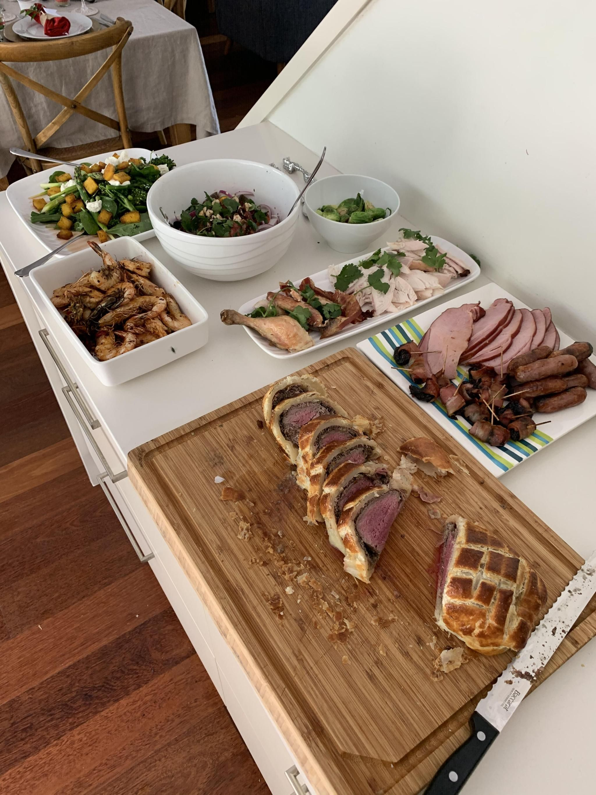 urbanfoodiesla16 and just cooked christmas lunch for the