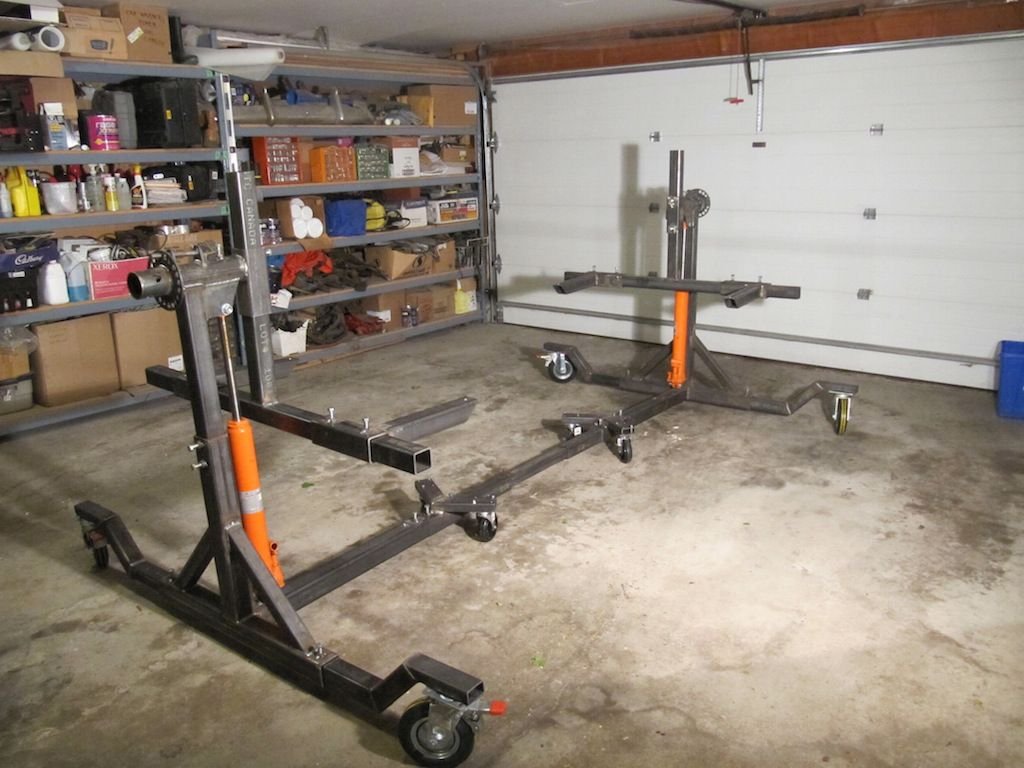 Auto Garage Tools For Sale: How To Building Car Rotisserie Plans Ultimate Auto