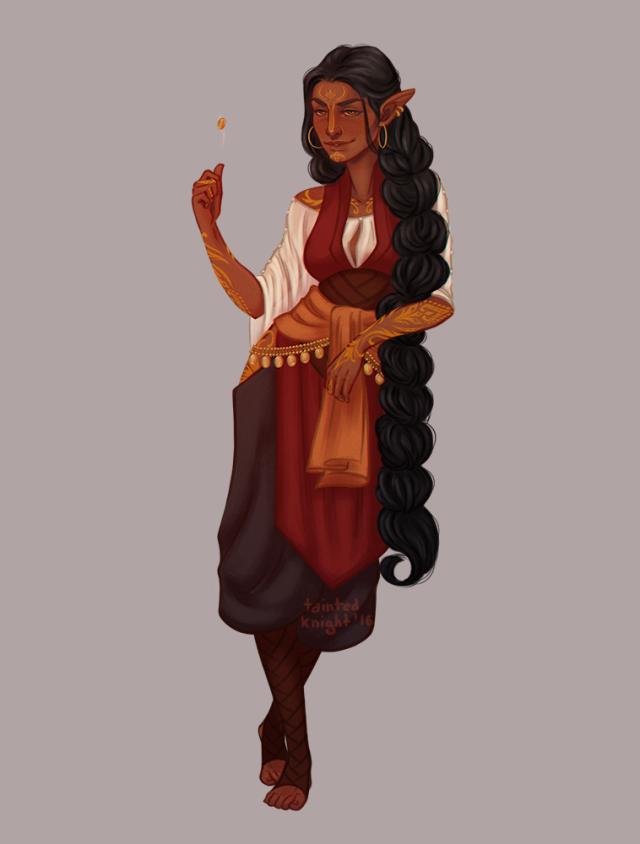 Female Wood Elf Merchant In 2019 Dragon Age Characters