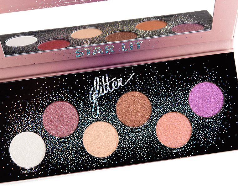 Make Up For Ever Star Lit Glitter Eyeshadow Palette Review