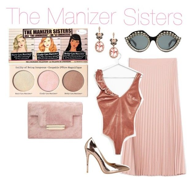 """""""The Manizer Sisters-The Balm"""" by blueangel16-001 ❤ liked on Polyvore featuring Gucci and Effy Jewelry"""