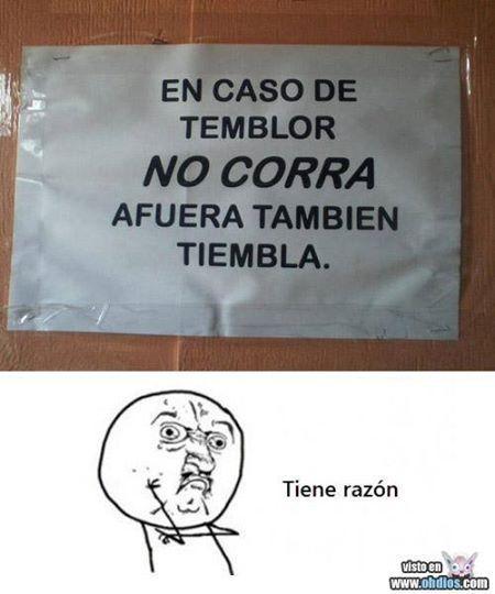 Jajajajajaja El Temblor Funny Memes Memes English Memes