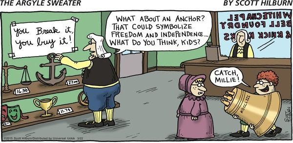 The Argyle Sweater // Such a noble story this would make!