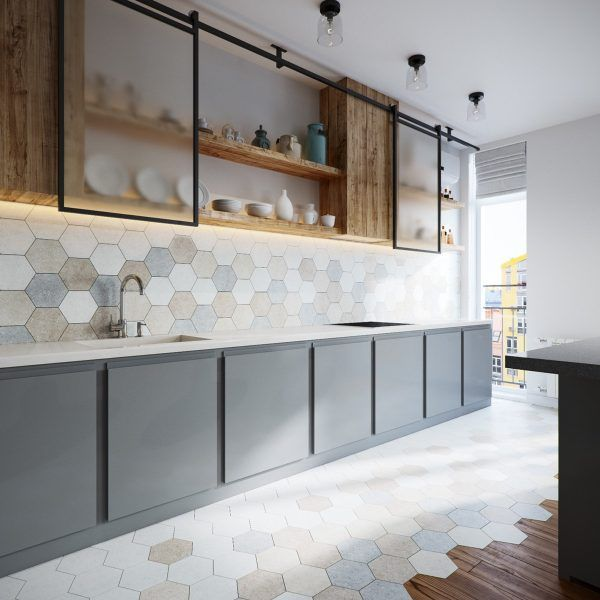 Two Different Springtime Themes In Two Small Apartments Scandinavian Kitchen Design Scandinavian Kitchen Cabinets Modern Kitchen Design