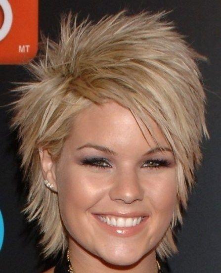 Short Hairstyle 58 Kimberly Caldwell Haircut Blonde Hair Layered