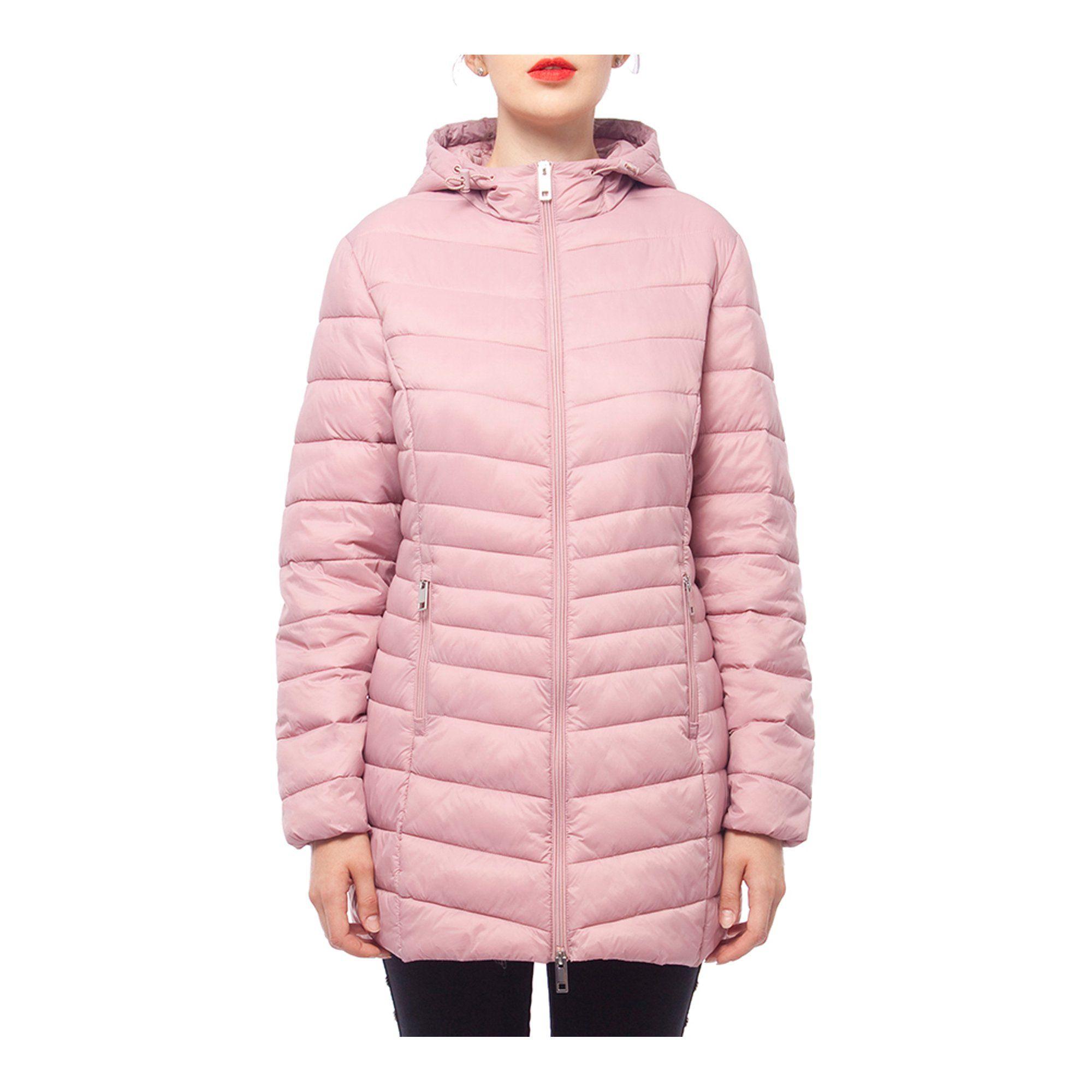 Rokka Rolla Women S Hooded Water Resistant Lightweight Packable Long Coat Puffer Jacket Walmart Com Women S Puffer Coats Puffer Coat With Hood Women S Puffer [ 2000 x 2000 Pixel ]