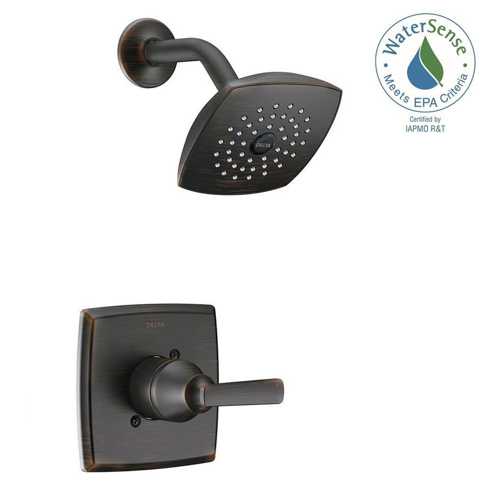 Ashlyn 1 Handle Pressure Balance Shower Faucet Trim Kit In  ~ Como Limpiar La Alcachofa De La Ducha