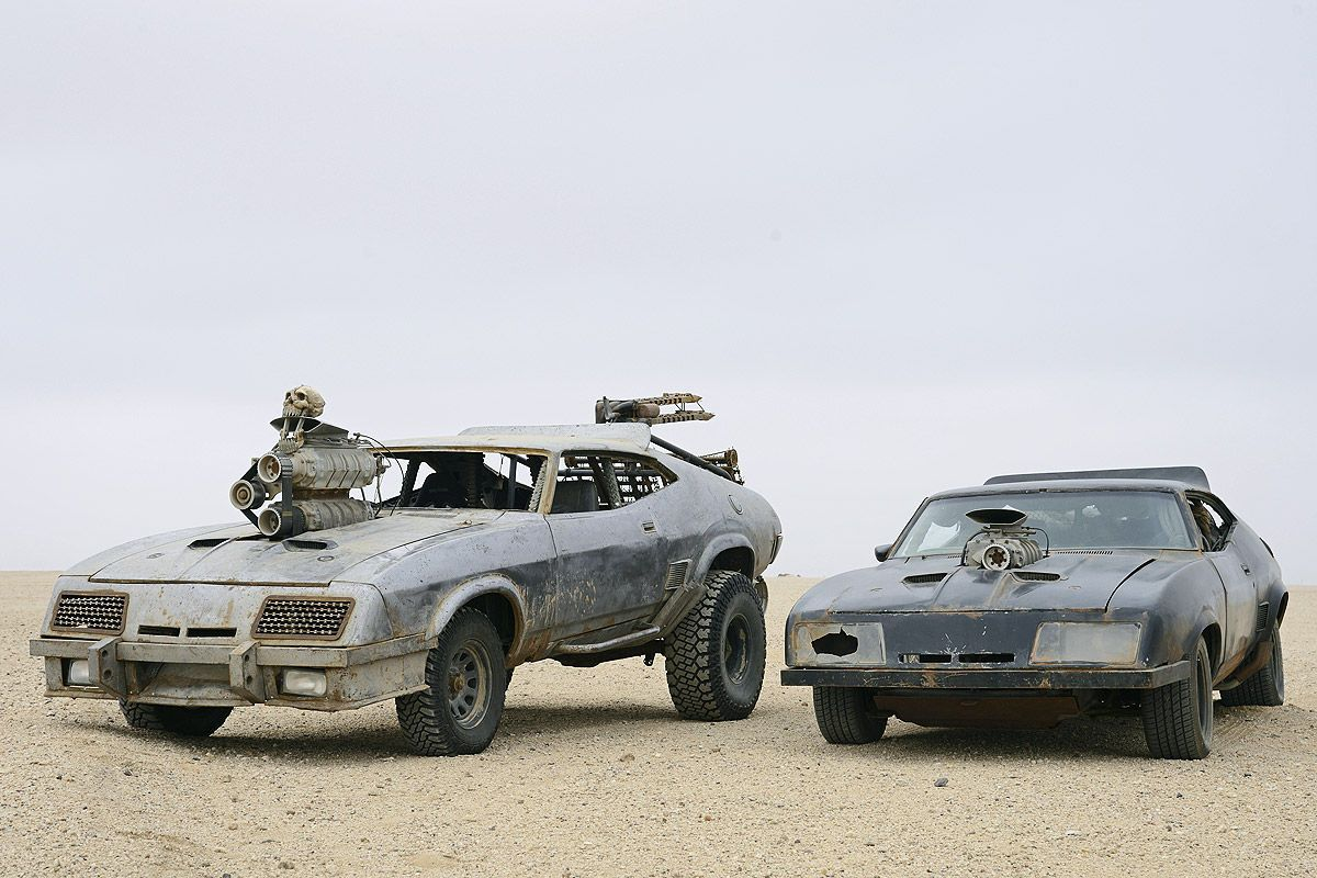Ford Falcon Xb Gt Coupe 1973 V8 Interceptor Mad Max Fury Mad