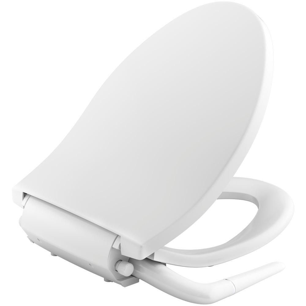 Kohler Puretide Non Electric Bidet Seat For Elongated Toilets In