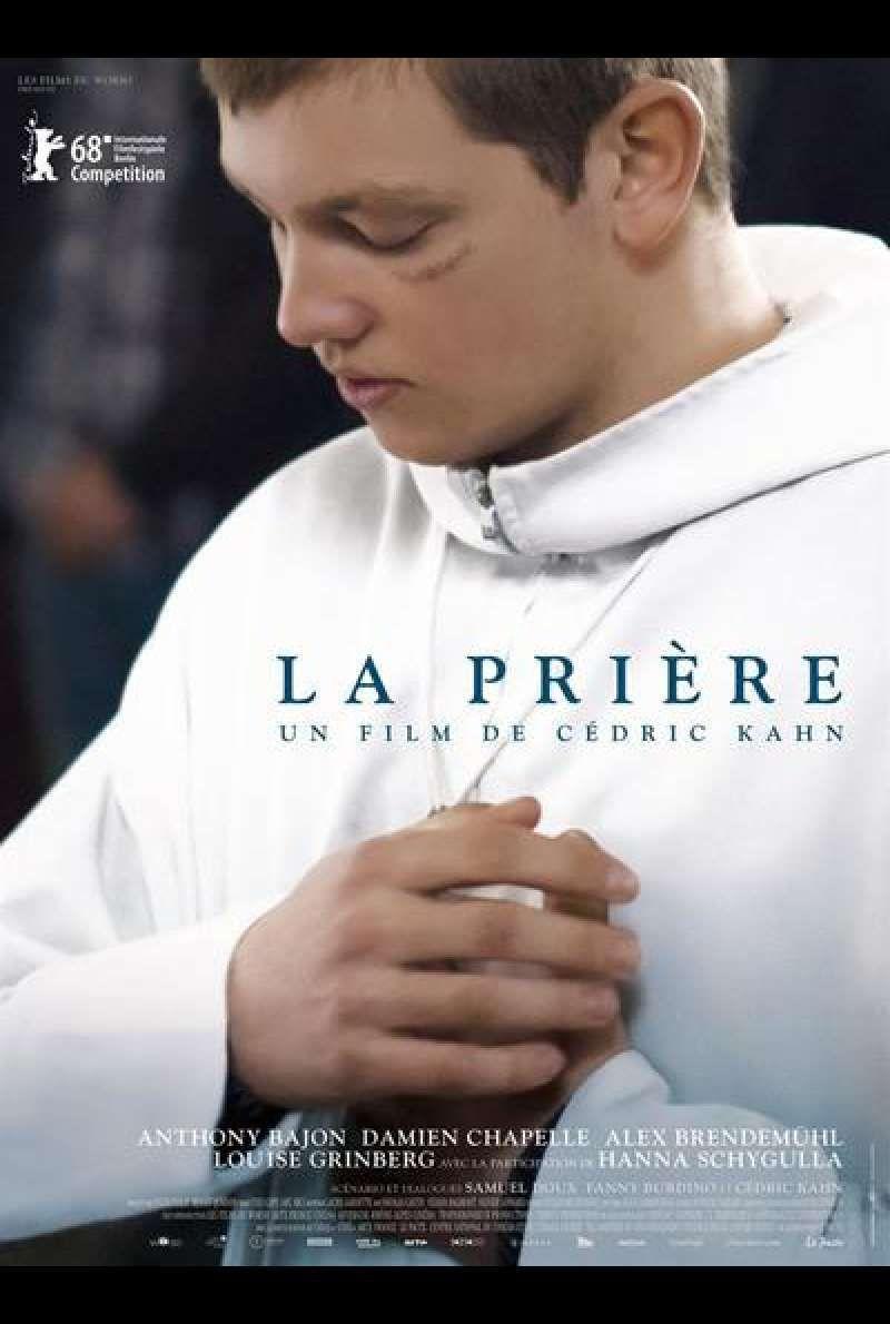 La prière von Cédric Kahn - Filmplakat (FR) | Filme kostenlos online, Neue filme, Beliebte filme