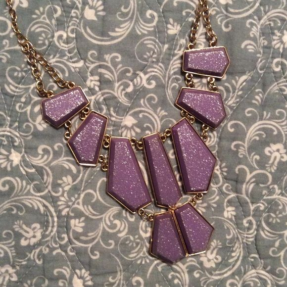 LAST CALLRadiant Orchid Statement Necklace Radiant Orchid Statement Necklace with gilded chain. Perfect color palette for Spring and Summer! Adjustable chain allows the necklace to be worn long or short. Never been worn and in perfect condition! bebe Jewelry Necklaces