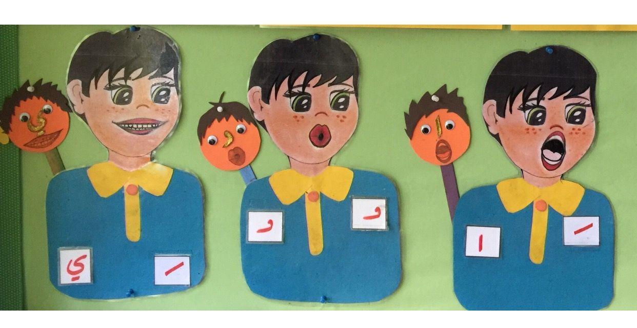 وسيلة لتعليم المقاطع القصيرة والطويلة Arabic Kids Toddler Learning Activities Teach Arabic