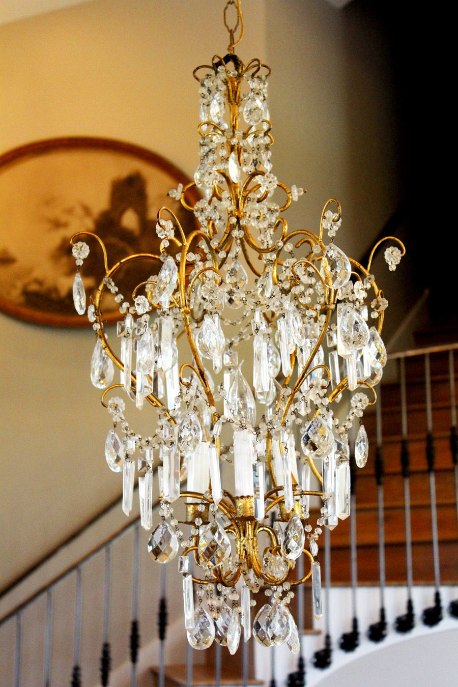 Breathtaking italian beaded antique chandelier breathtaking italian breathtaking italian beaded antique chandelier breathtaking italian beaded antique chandelier this antique chandelier is all original arubaitofo Image collections