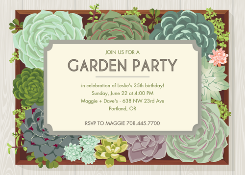 Garden Party Invitation gartenparty Pinterest Garden party