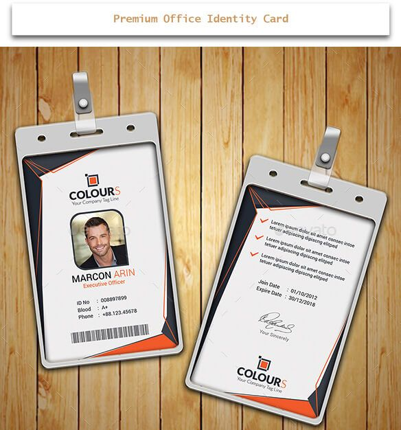 Identity Card By Mnp  Design Desk    Creative