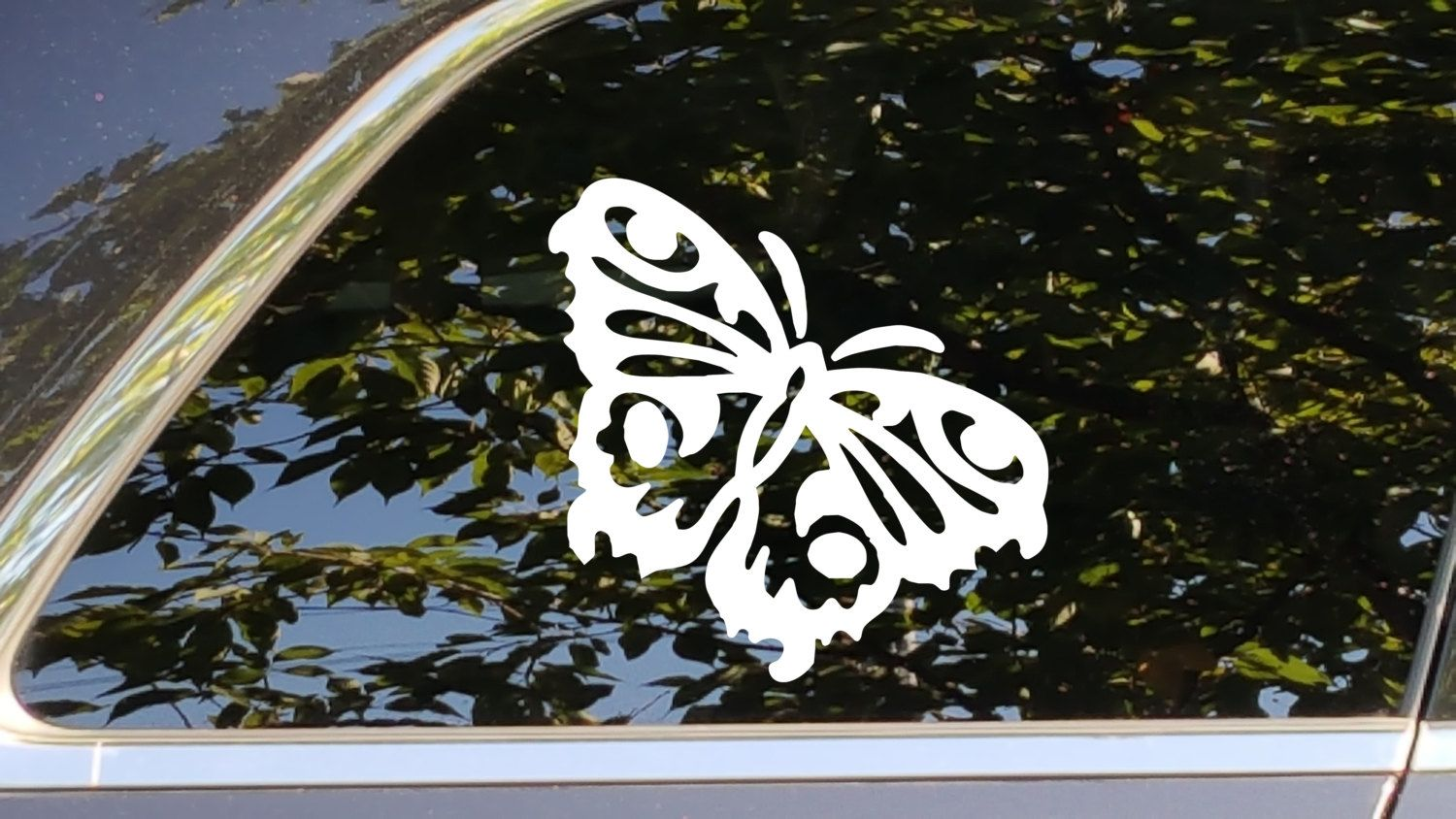 Butterfly Art Vinyl Decal Sticker Accessory For Automotive - Butterfly vinyl decals