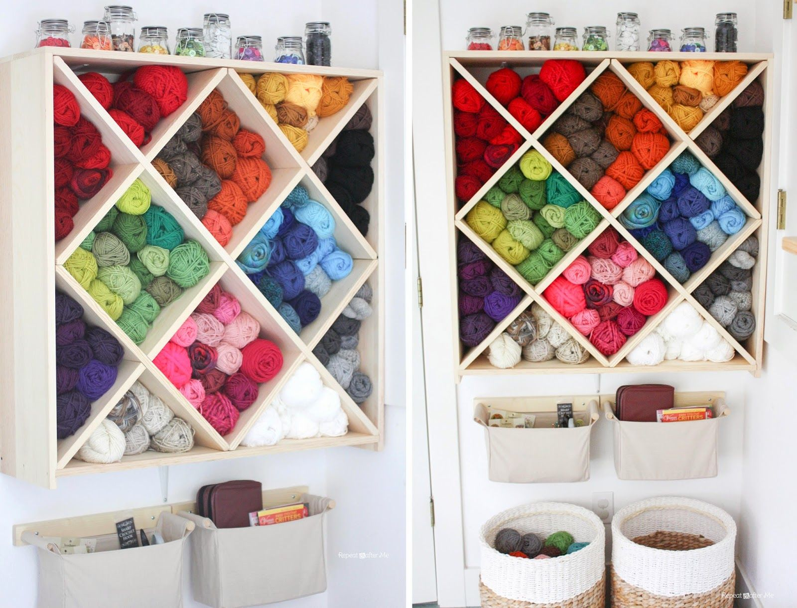 repeat crafter me: yarn storage system - love!!!!!! | today's