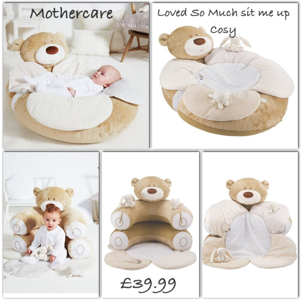 Mothercare Loved So Much Sit Me Up Cosy Baby Sewing